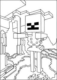 48 minecraft coloring pictures images drawing