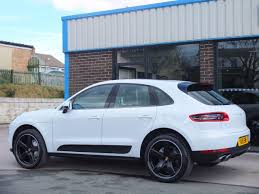 porsche macan white used porsche macan 3 0 v6 s pdk 340ps for sale in bradford west