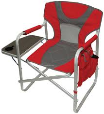 Folding Directors Chair With Side Table Heavy Duty Folding Director S Chair With Side Table Side Tables
