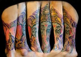 ganesh tattoo by sirironphoenix on deviantart