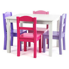 tot tutors table and chair set tot tutors forever white table and 4 pink purple chairs set toys r us