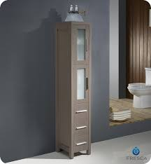 Bathroom Vanity With Side Cabinet Vanity Bathroom Linen Side Cabinet Cabinets Of Best References