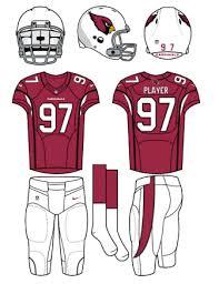 big play nfc football uniform coloring page free nfl falcons