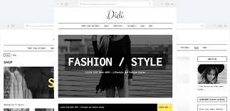 Multiple Choice Questions For Fashion Fashion Wordpress Theme U2013 Didi Anariel Design
