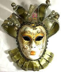 italian masquerade mask maschera galeone venetian masquerade mask painted in