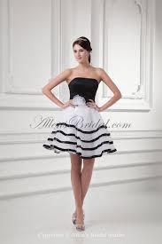 allens bridal organza strapless neckline a line short hand made