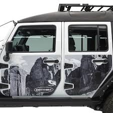 Smittybuilt Roof Rack by Smittybilt 76994 Mag Armor Magnetic Trail Skins Walmart Com
