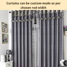 Standard Curtain Length South Africa by Blockout Blackout Grey Gray Sheer Drapes Curtain Fabric Eyelet