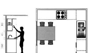 plan de cuisines plan cuisine gratuit 20 plans de cuisine de 1 m2 à 32 m2 côté maison