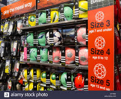 Modells Soccer Ball Display Modell U0027s Sporting Goods Store Interior Nyc