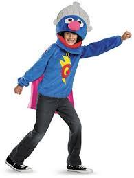 kids sesame street grover movie costume