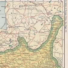 Baltic States Map Maps1919 28