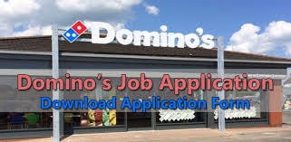 domino u0027s job application form 2017 job application center