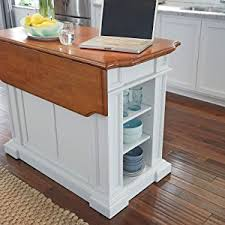 home style kitchen island amazon com home styles 5002 94 kitchen island white and distressed