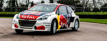 peugeot sport car hansen motorsport start