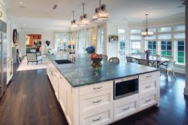 Large Kitchen Island Hi Tech Kitchen With Large Island