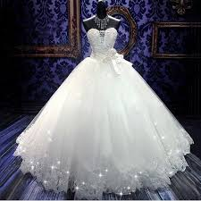 2017 high quality real photoes bling bling crystal wedding dresses
