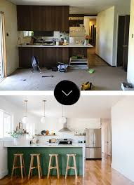 Designing A New Kitchen Layout Before U0026 After A Fixer Upper Gets A New Kitchen In Denver Co