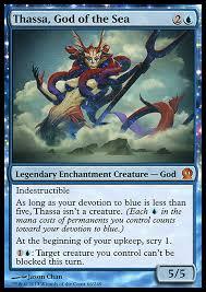 thassa god of mono blue infect edh commander deckstats net