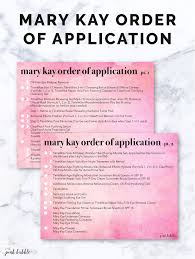 Mary Kay Party Invitation Templates Order Of Application U2014 The Pink Bubble