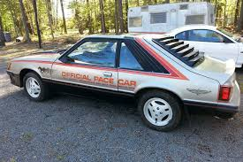 1979 ford mustang pace car sequestered since 1993 1979 ford mustang pace car http