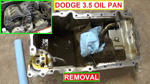 oil pan removal oil pan gasket dodge magnum 3 5 dodge charger 3 5