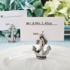 place card holders nautical anchor place card and photo holder