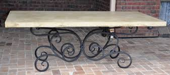 Iron Table Base Wrought Iron Table Base Farmweld