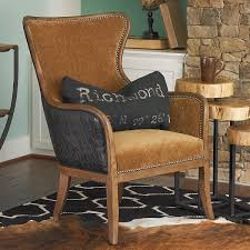 Wingback Chairs Leather Faux Leather And Velvet Wing Chair Leather Wingback Chair