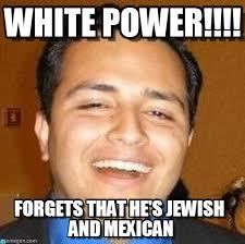 White Power Meme - white power bad berto meme on memegen