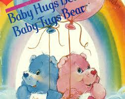 vintage care bears book baby hugs bear baby tugs bear
