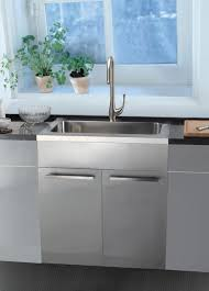stainless steel base cabinets stainless steel sink base cabinets kitchen san francisco by dawn