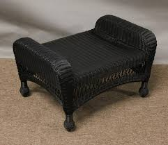 outdoor ottoman cushion replacement charleston outdoor wicker ottoman nc4570 jaetees wicker wicker