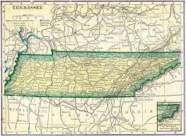 Tennessee Map With Counties by Tennessee Genealogy Free Genealogy U2013 Access Genealogy