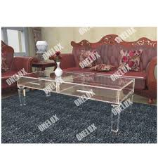 coffee table acrylic coffeeable with glassopacrylic ikea