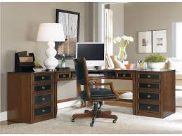 furniture office desks with hutch office workspace cute modern