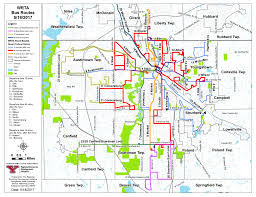 Ohio University Map Maps U0026 Schedules Western Reserve Transit Authority Wrta