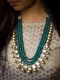 jewelry indian necklace images Gold over green 1 jpg jpg
