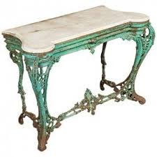 Patio Sideboard Table Console Table With Marble Top Foter