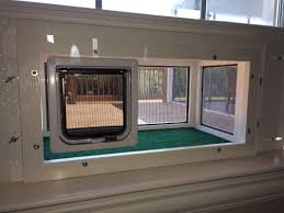 cat runs into glass door cat window patios from cwaa crafts cat window boxes and patios