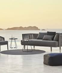 2 Seater Outdoor Sofa Moments 2 Seater Sofa By Cane Line Couture Outdoor