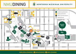 Rockford Michigan Map by Northern Michigan University Map Michigan Map
