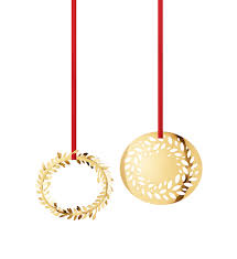 georg ornament set wreaths 2016 gold