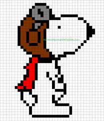 minecraft pixel art templates snoopy