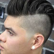 disconnected undercut modern pompadour hairstyles and haircuts for