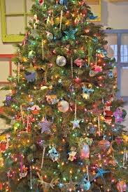christmas trees with colored lights decorating ideas christmas season natural decor collage loldev