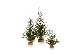 small artificial christmas trees distinguished color changingrgb lights trees artificial trees in