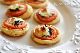 Ina Garten Tomato Tart Recipe Mini Tomato And Mozzarella Tarts