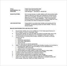 Staffing Recruiter Resume Recruiter Job Description 8 Recruiter Characteristics Job