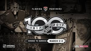 nhl centennial fan arena nhl centennial fan arena to visit sunrise march 2 4